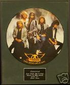 "AEROSMITH-Framed 12""Picture Disc-DUDE(LOOKS LIKE A LADY"